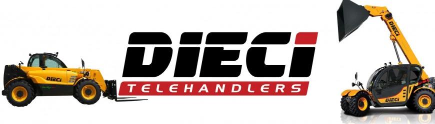 Погрузчики DIECI в лизинг под 0%