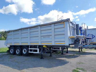 Полуприцеп зерновоз Bodex 3WS 35m3 - 2021г